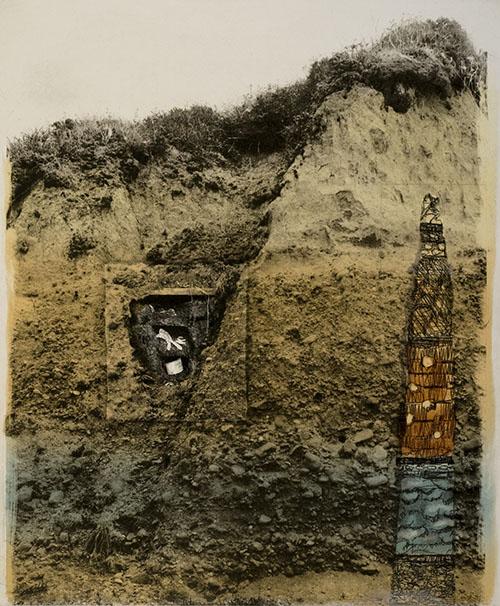 Robin McCloskey, San Gregorio II, photo-etching, etching, monotype, 2011.