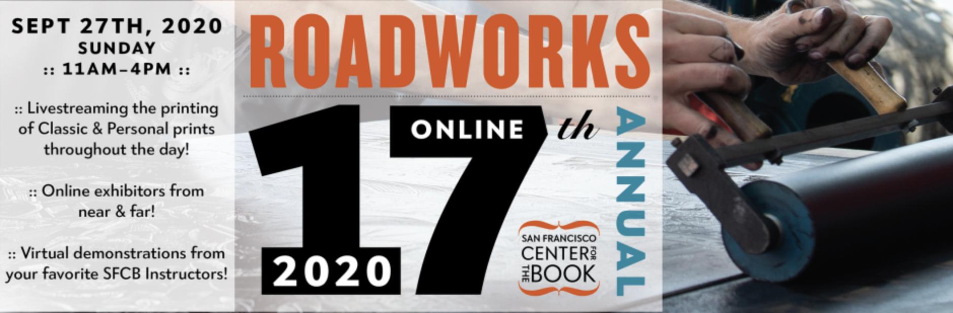 Roadworks banner