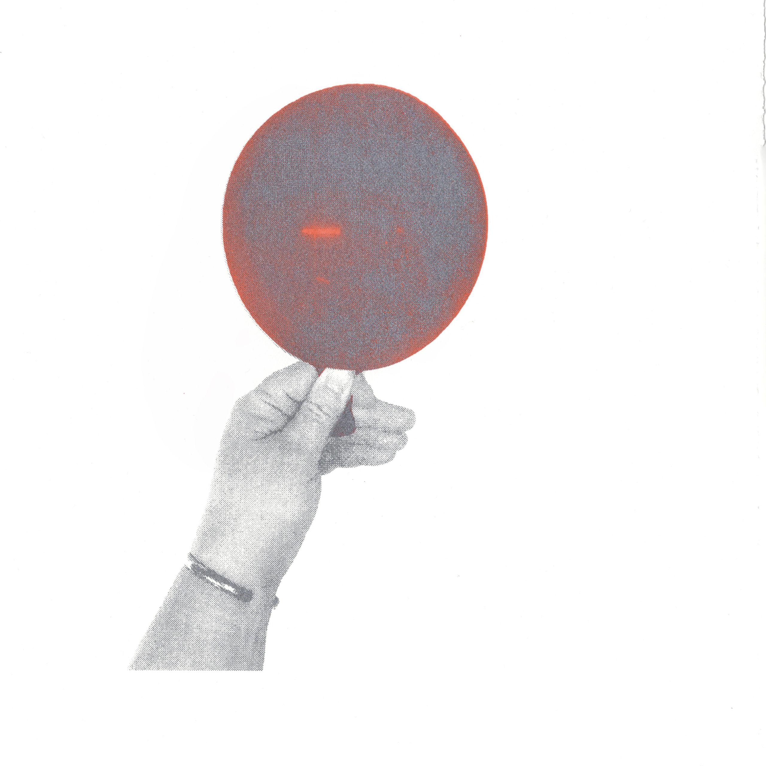 Summer Ventis, Held Breaths I, screen print, 10 x 8 in